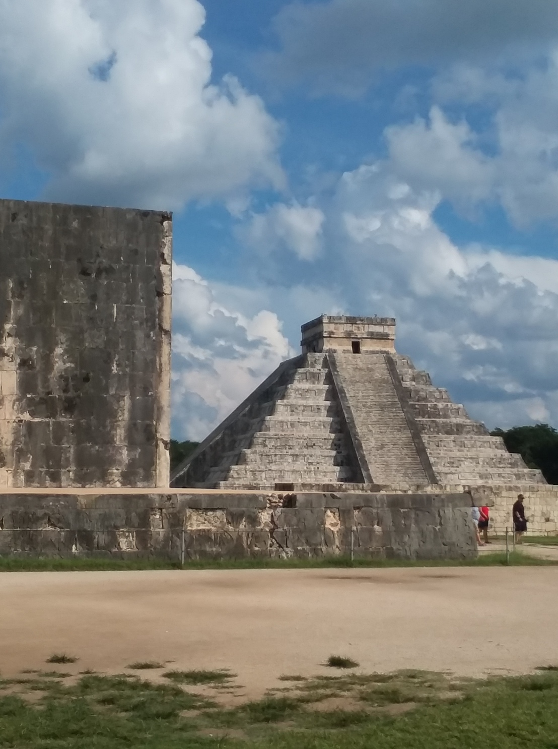 On Chichen Itza and ChristmasWreaths