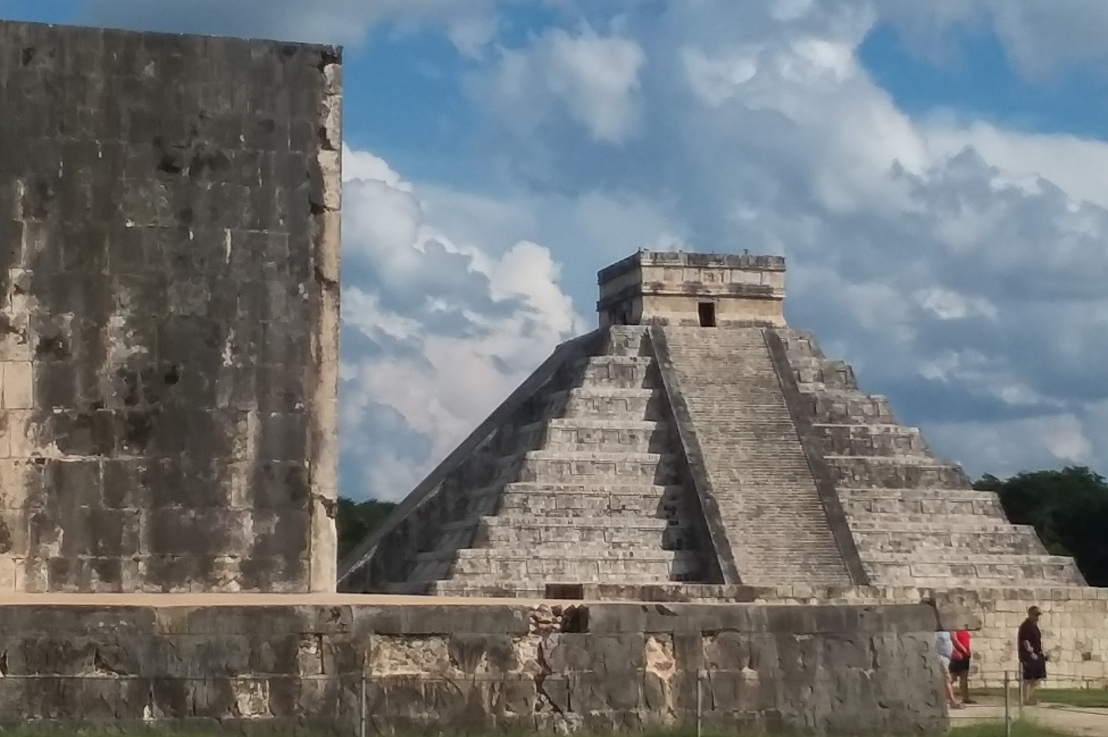 On Chichen Itza and Christmas Wreaths
